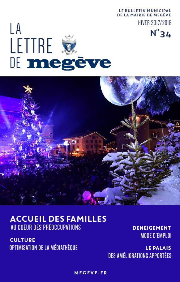 photo de couverture de La Lettre de Megève 34