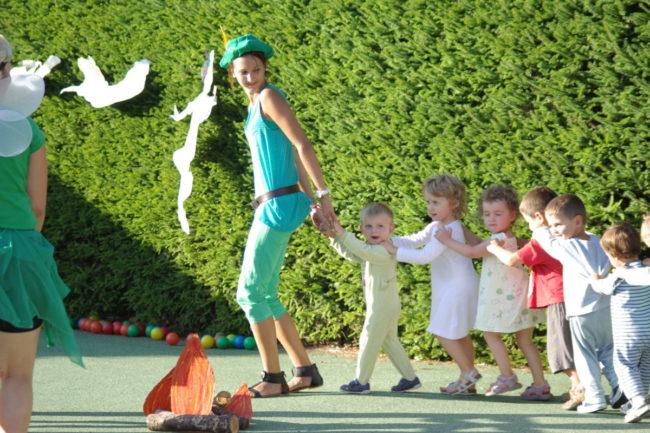 animation enfant à l'accueil de loisirs