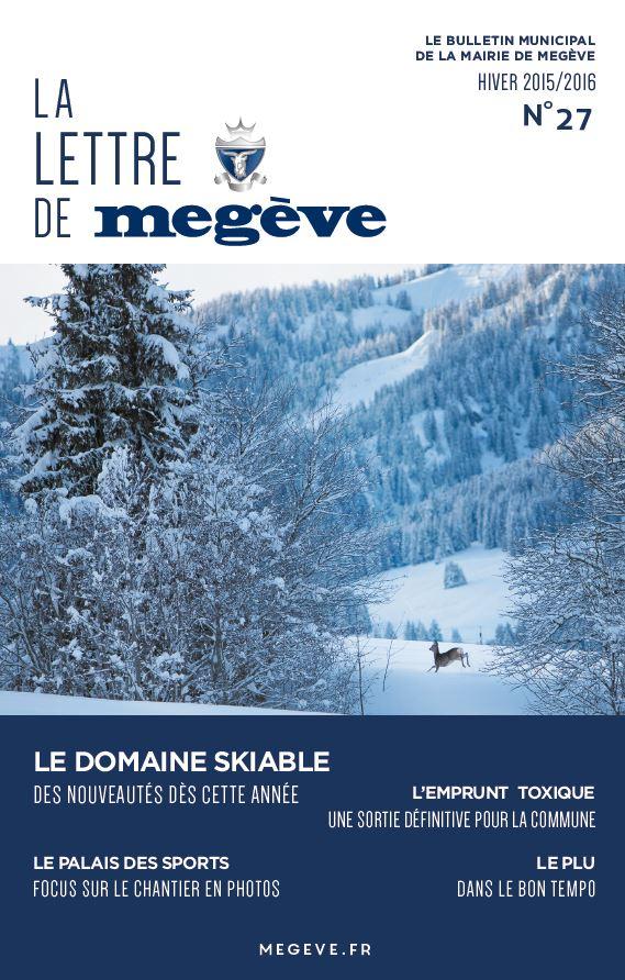 photo de couverture de La Lettre de Megève 27