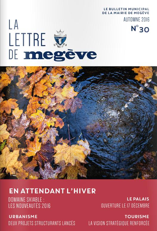 photo de couverture de La Lettre de Megève 30