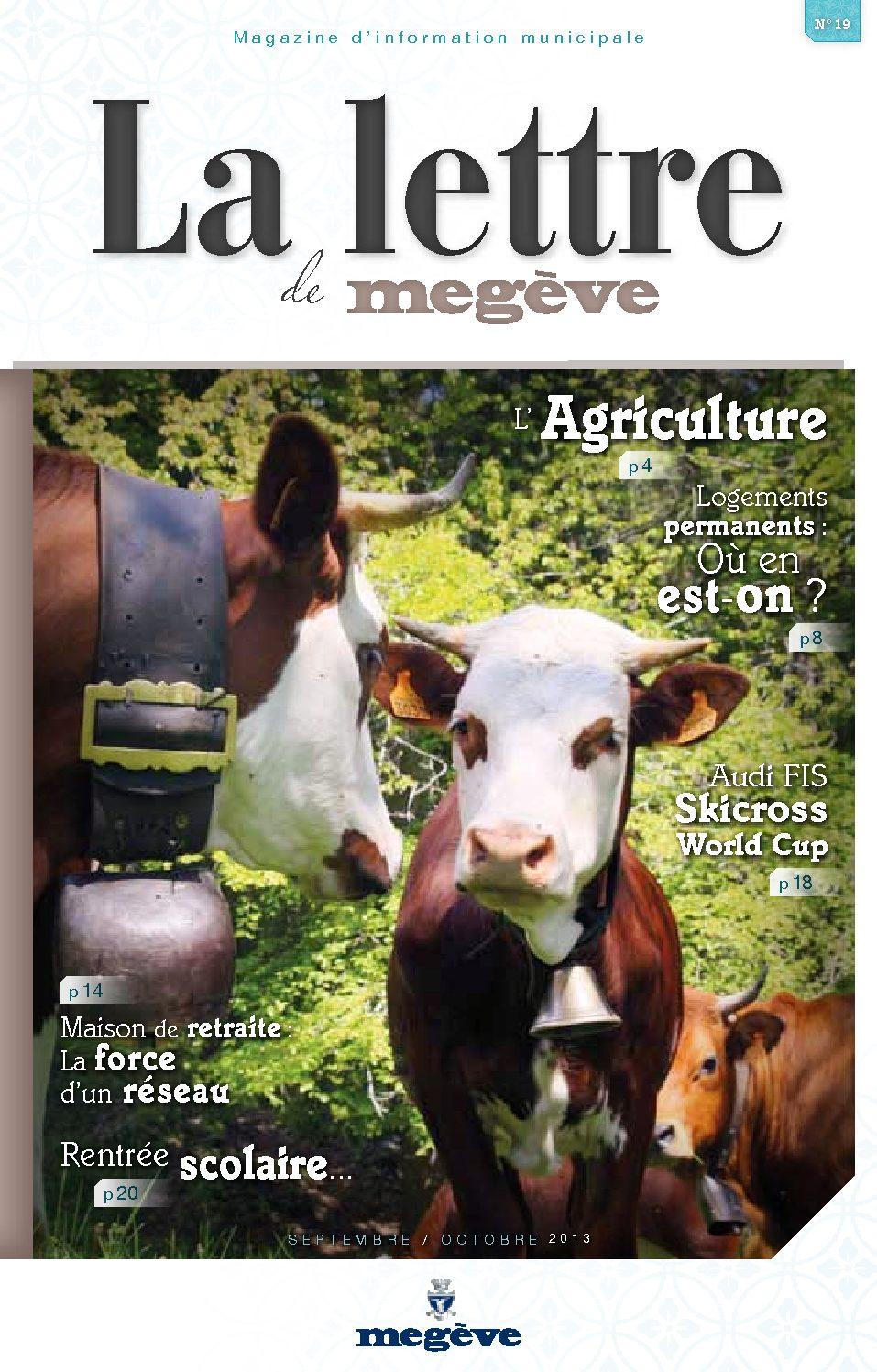 photo de couverture de La Lettre de Megève 19