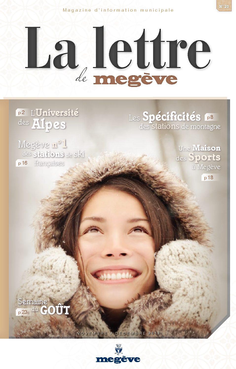 photo de couverture de La Lettre de Megève 20
