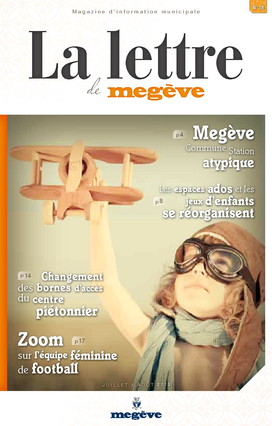 photo de couverture de La Lettre de Megève 18