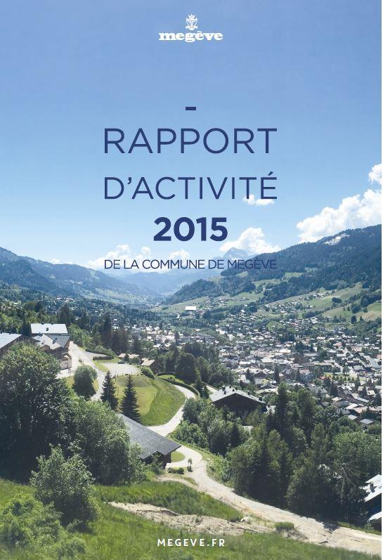 photo de couverture du rapport d'activité 2015