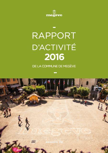photo de couverture du rapport d'activité 2016