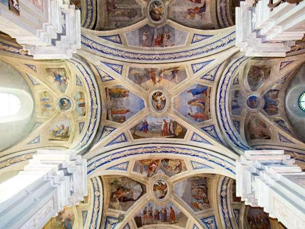 voûtes de la chapelle du Calvaire