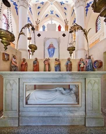 intérieur de la chapelle du Calvaire