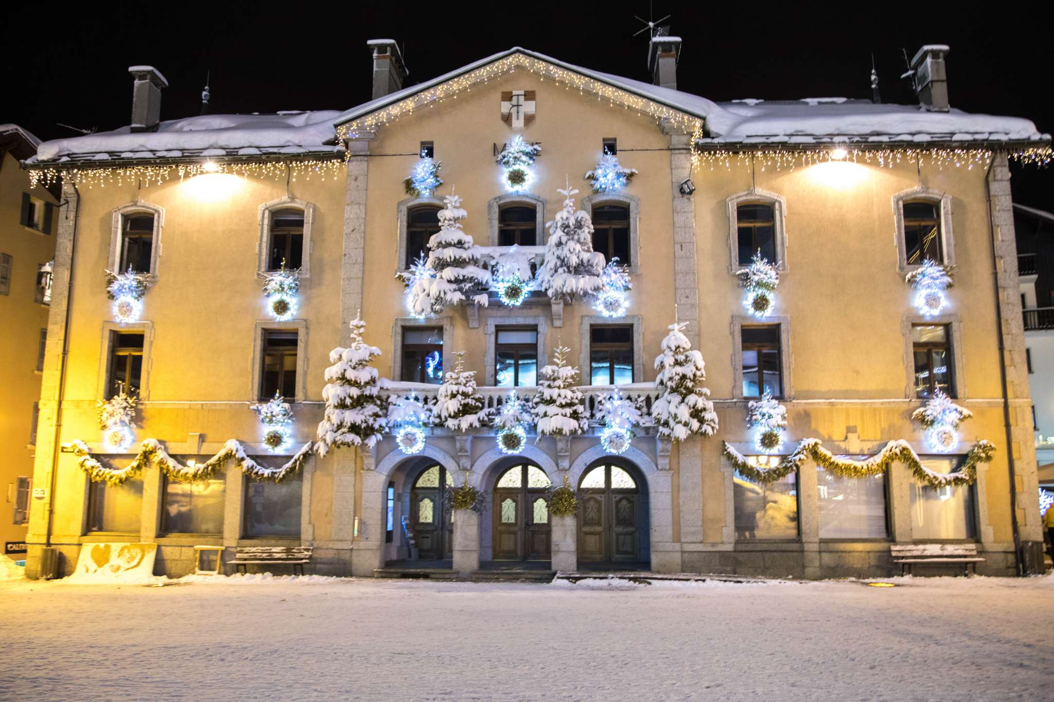 mairie hiver