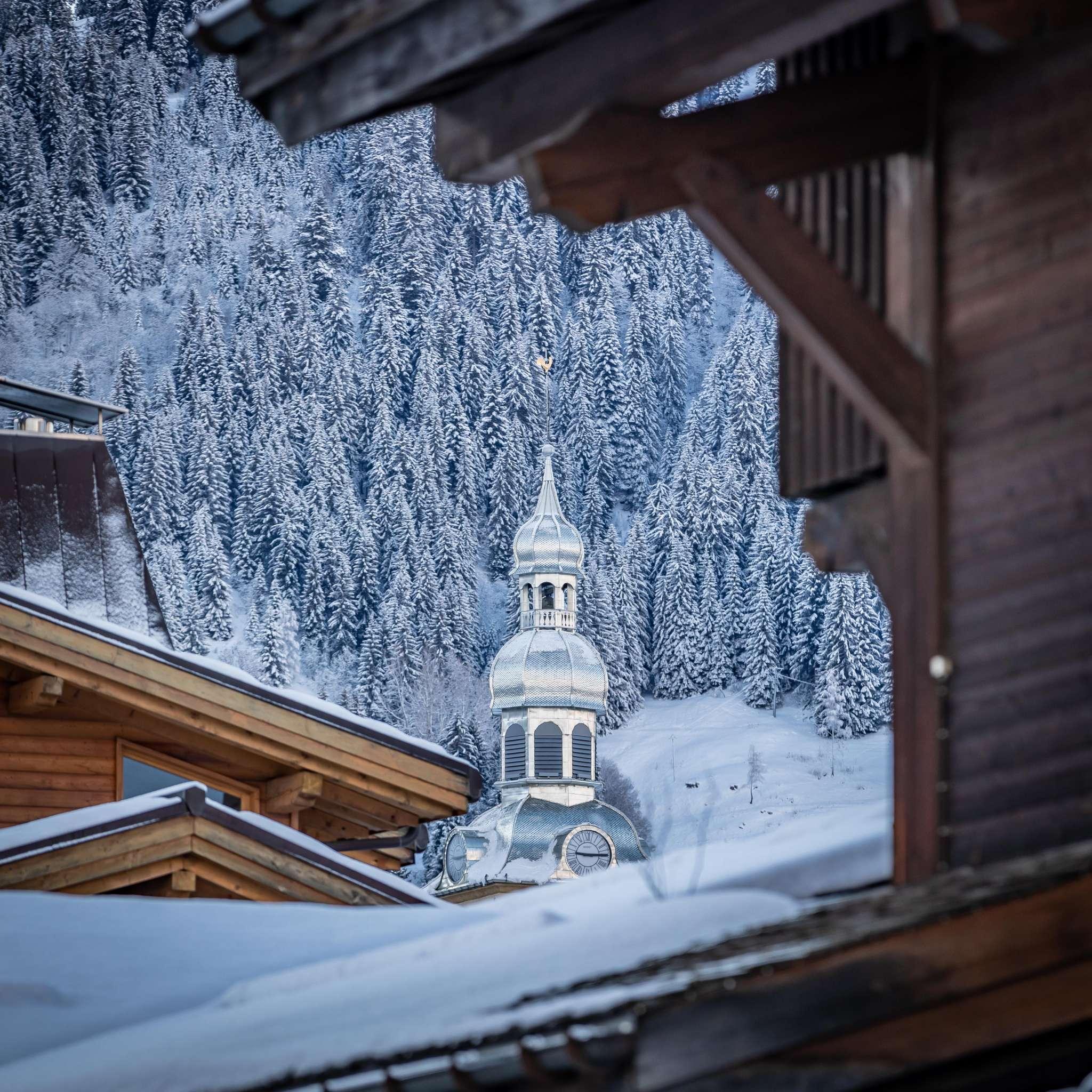 clocher hiver