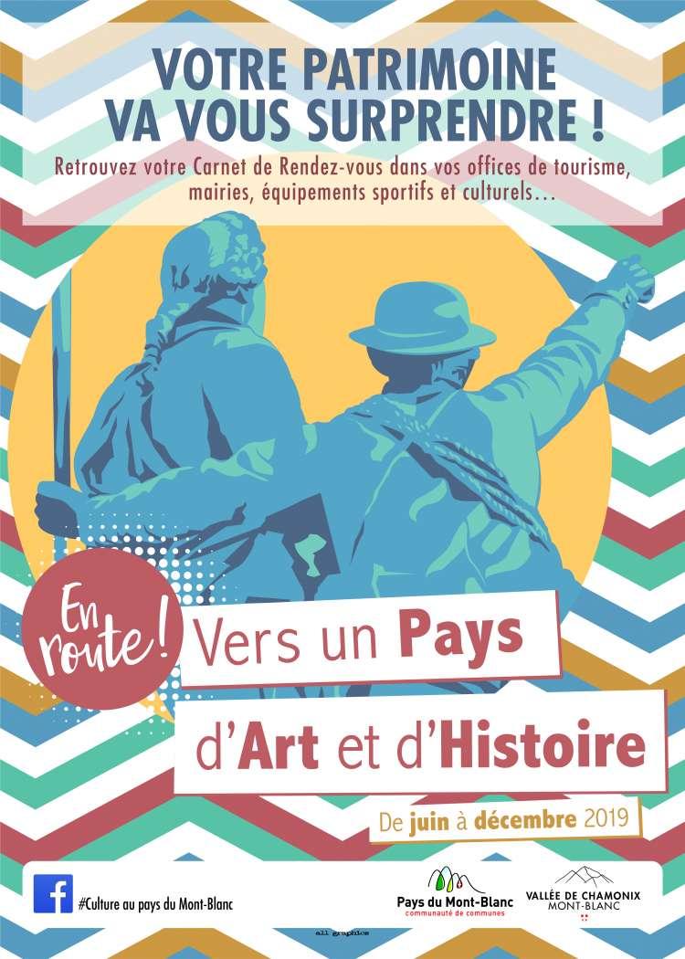 affiche Pays d'Art et d'Histoire