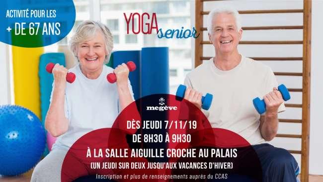 affiche yoga seniors